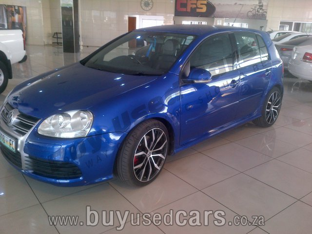 Volkswagen golf golf 5 gti 2 0 t fsi manual 2007 for sale in gauteng