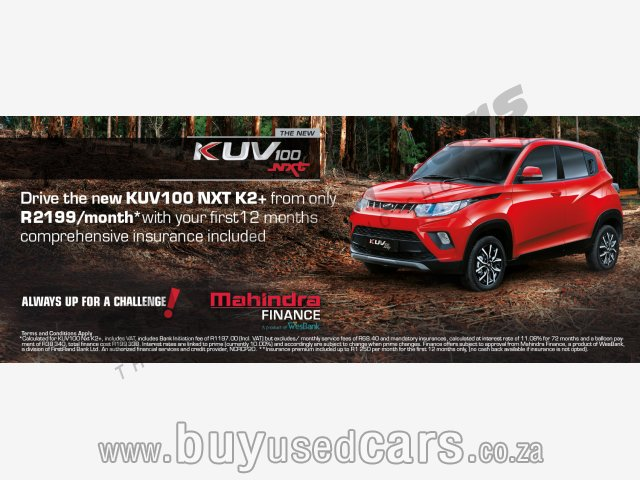 Mahindra-KUV100 Nxt-K2+ Manual 2018 for Sale in Western Cape-Paarl (136173)